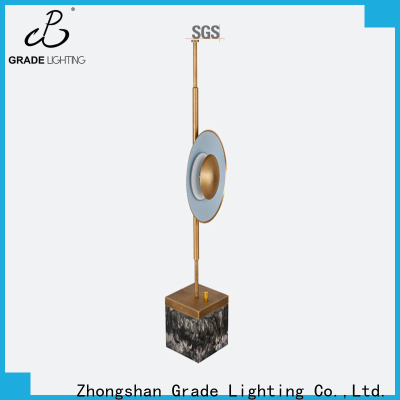 certificated hotel table lamps wholesale for hallway