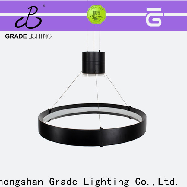 Grade hanging lamp factory for hotel