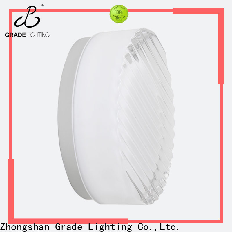 Grade mounted hotel wall lamp supplier for hallway