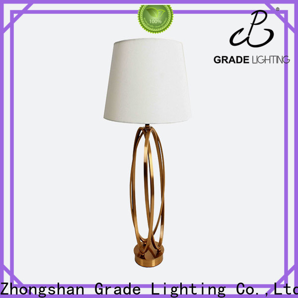 Grade custom table lamps supplier for living room