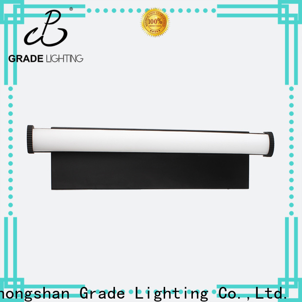 Grade mounted custom wall lights factory price for hotel