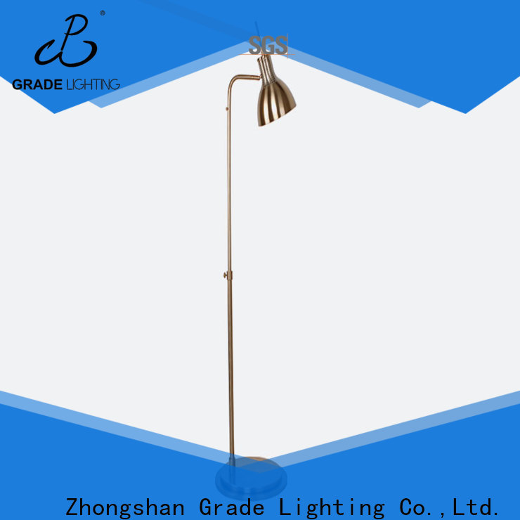 acrylic floor standing lights manufacturer for household