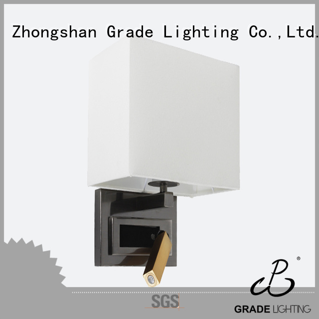 aluminum indoor wall lamps factory price for hotel