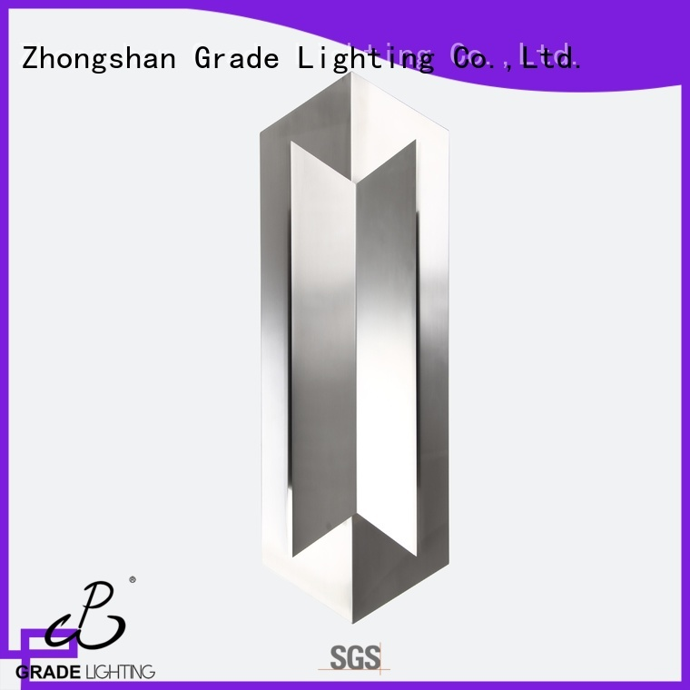 Grade mounted indoor wall lamps personalized for hotel