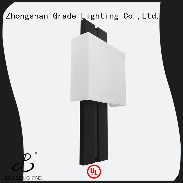 Grade mounted wall lights factory price for living room