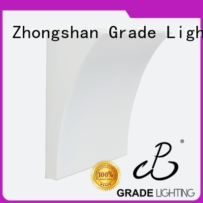 Grade mounted wall light fixture factory price for hallway